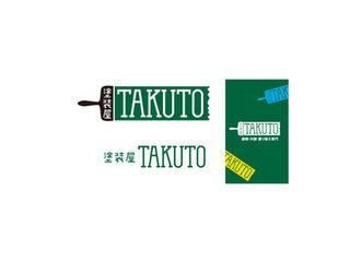 塗装屋 TAKUTO ロゴ