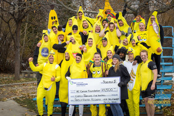 Going Bananas for Cancer Research