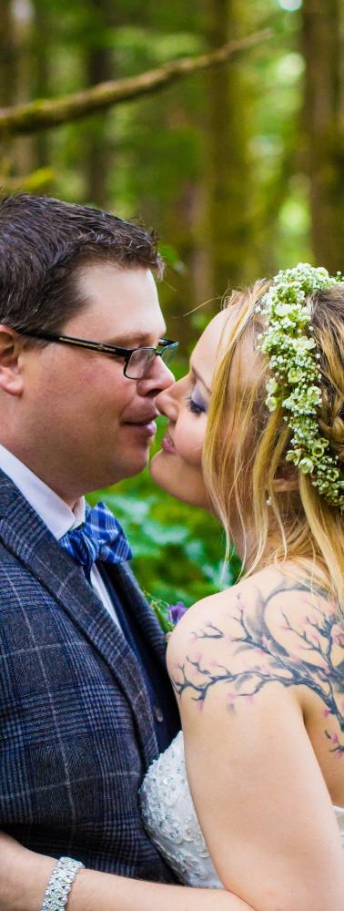 Tofino Wedding in the Woods.