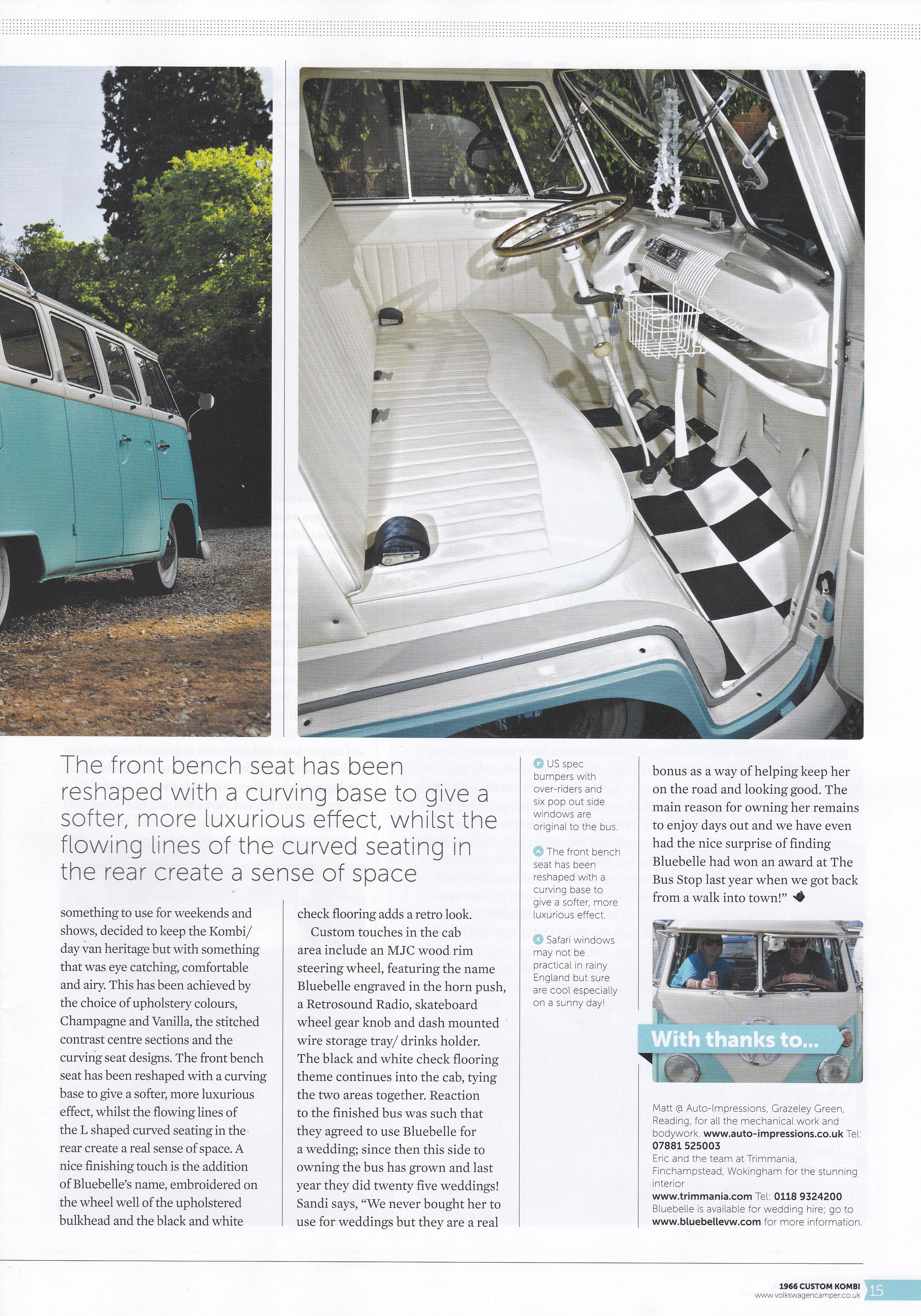 VW Camper - Bluebell