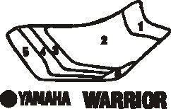 YAMAHA Warrior Evo