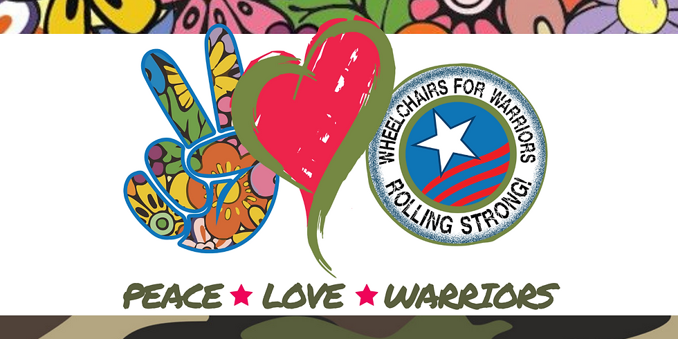 Peace Love & Warriors 3rd Annual Fundraiser  (1)
