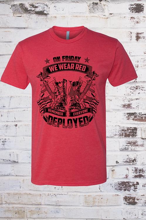 Men's We Wear R.E.D. T-shirt