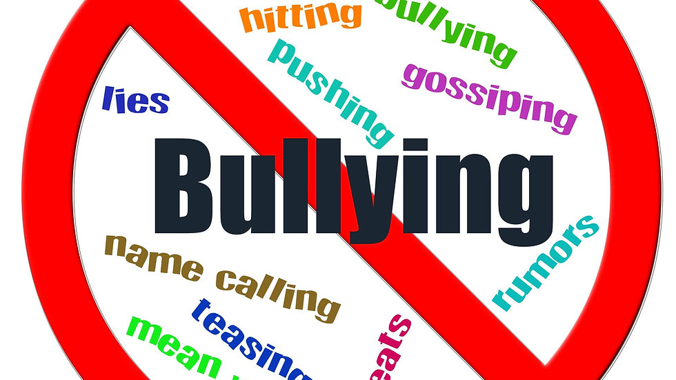 CONVERSATIONS ABOUT BULLYING One month