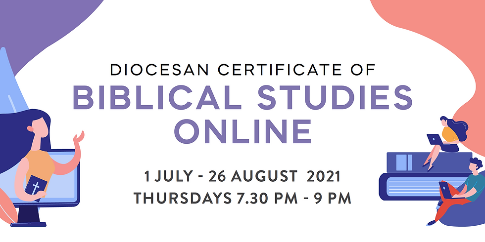 Diocesan Certificate of Bible Studies (Online) - Term 3