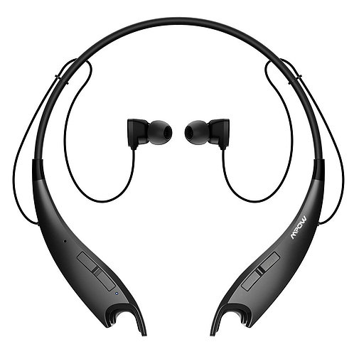 Mpow Jaws V4.1 Bluetooth Headphones Wireless Neckband Headset Stereo