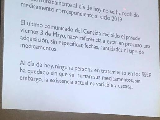 Reunión ante el COESIDA Puebla