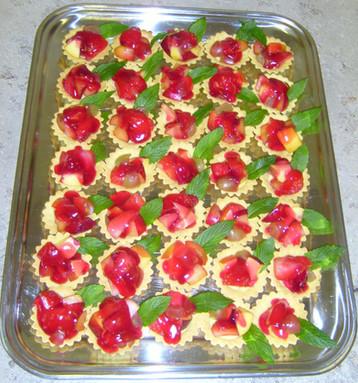 Mini Strawberry Tarts