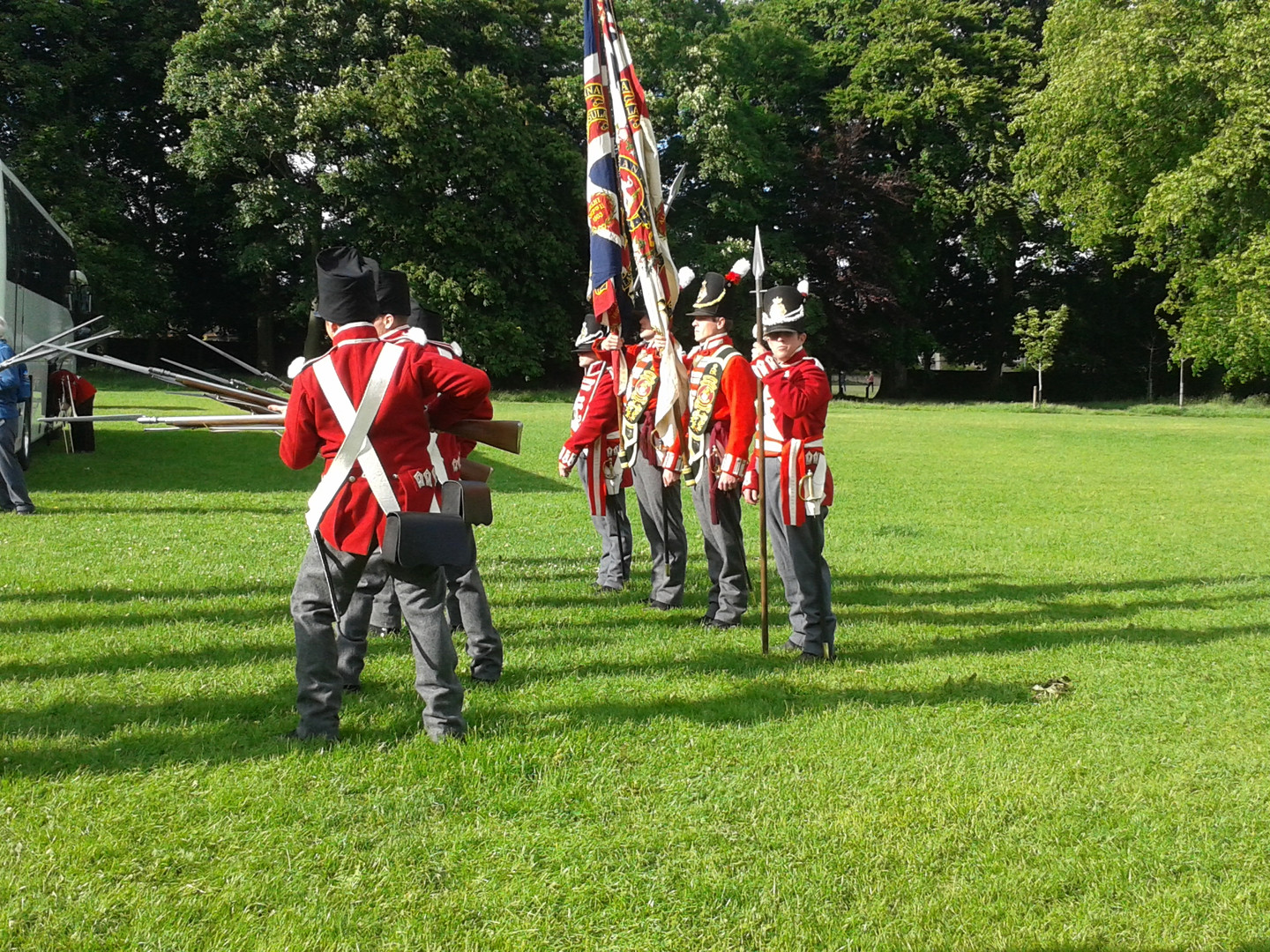 Duke of Wellington Regiment Reinactment