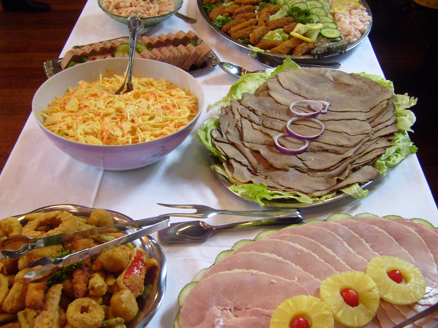 Carved Buffet - Gingham caterers