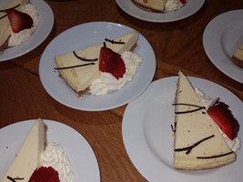 Party desserts - Gingham caterers