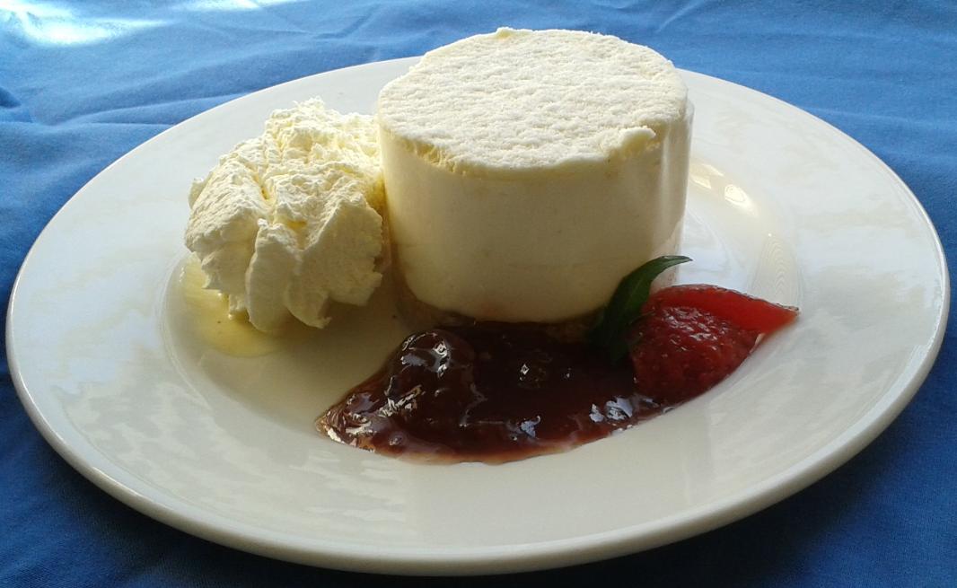Vanilla Cheesecake - Gingham caterers