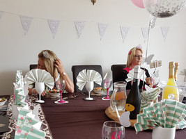 Party tables (9) - Gingham caterers