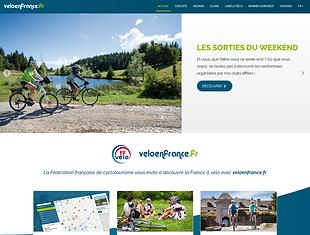 veloenfrance  site FFCT parcours cyclotourisme