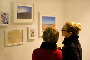 Ausstellungseröffnung im Mieterverein Dortmund.
