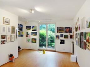 Ausstellung Querbeet 5 in Bremen.