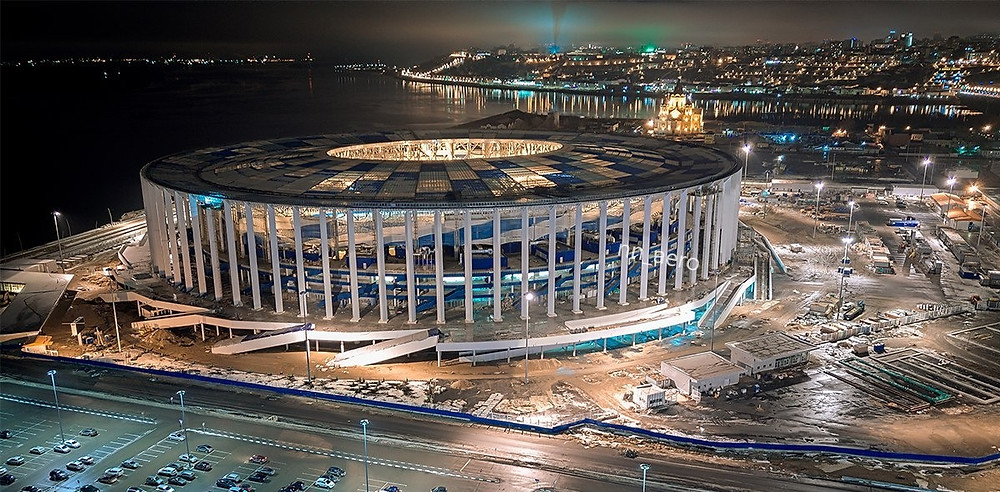 Nijni Novgorod arquitetura copa 2018