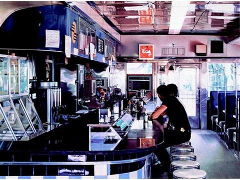 Blue Diner, Ralph Goings