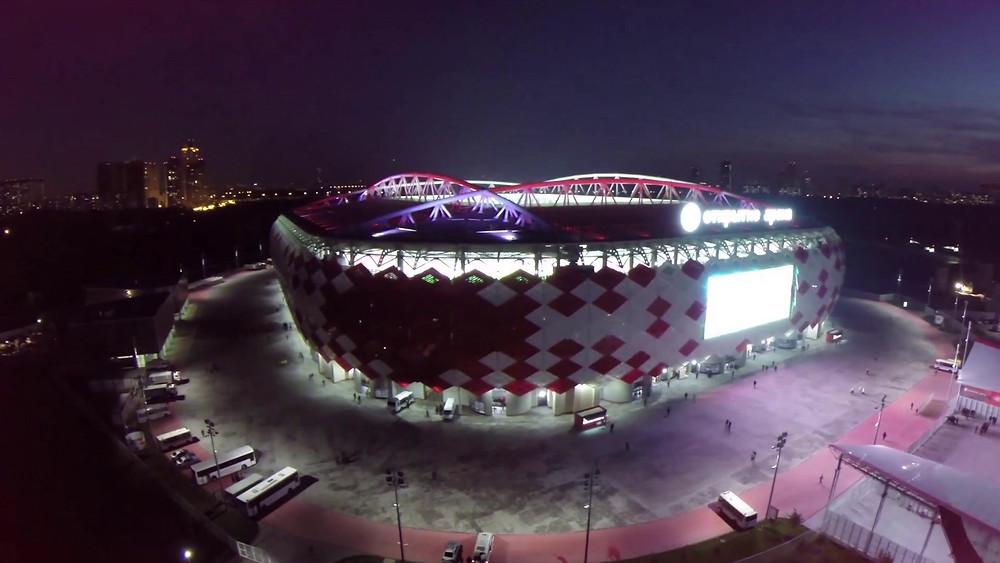 Spartak arquitetura copa 2018