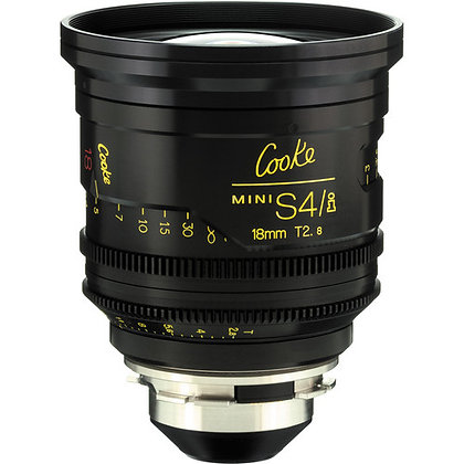 Cooke S4/i 18mm T2.0 Lens PL Rental