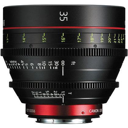 Canon CN-E 35mm T1.5 L F Lens EF Rental