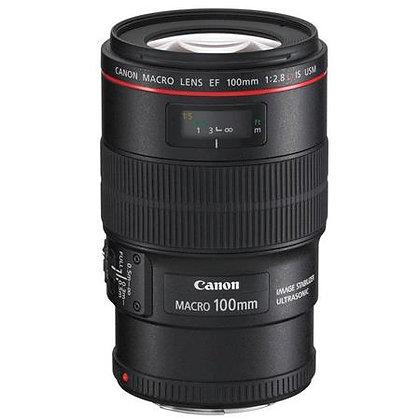 Canon 100mm Macro F2.8 L IS Lens EF Rental