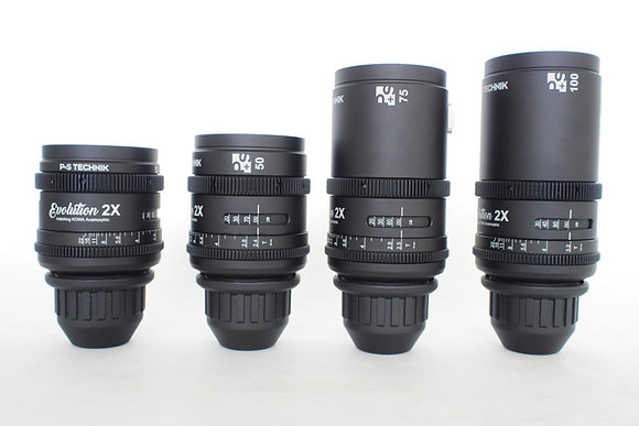 Kowa Evolution 2x Anamorphic 4 Lens Set PL Rental