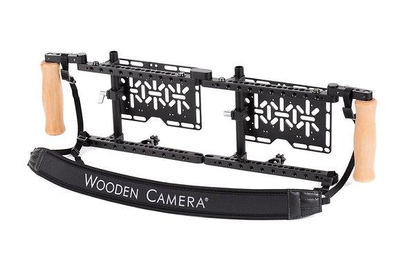 Wooden Camera Dual Monitor Cage  Handgrips Rental