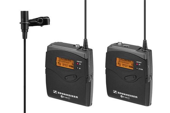 Sennheiser G3 Wireless Lavalier Kit Rental
