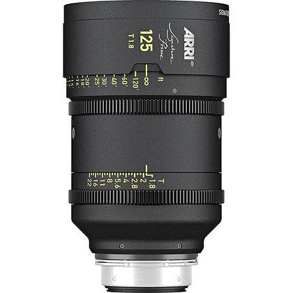 Arri Signature Prime 125mm T1.8 FF Prime Lens PL Rental