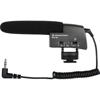 "Sennheiser MKH400 1/8"" Mini Shotgun Microphone Rental"