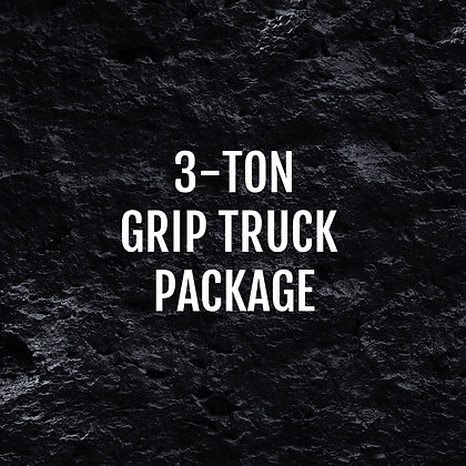 3-Ton Grip Truck Package
