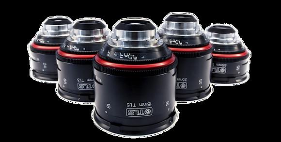 Canon K35 TLS Rehoused 5 Lens PL Rental