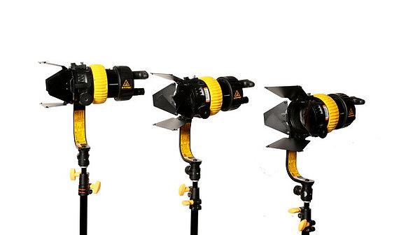 Dedolight DLED7 Turbo Bi-Color 90W 3 LED Kit Rental