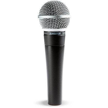 Shure SM58 Handheld Microphone Wired Rental