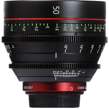 Canon CN-E 50mm T1.5 L F Lens EF Rental