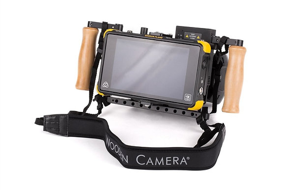 Wooden Camera Single Monitor Cage V2  Handgrips Rental