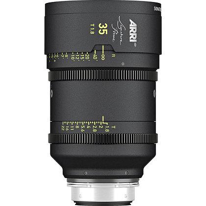 Arri Signature Prime 35mm T1.8 FF Prime Lens PL Rental