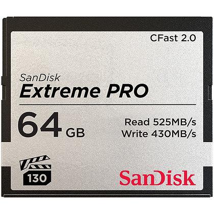 CFast 64GB Media Card Rental