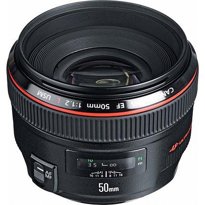 Canon 50mm F1.2 L Lens EF Rental