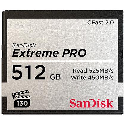 CFast 512gb Media Card Rental