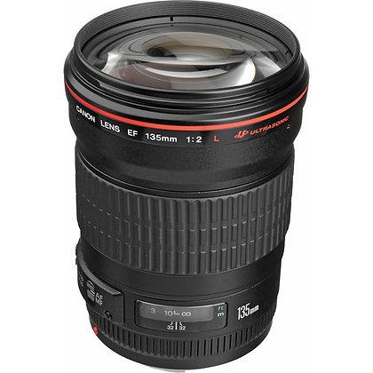 Canon 135mm F2.0 L Lens EF Rental