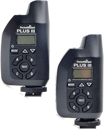 Pocket Wizard Plus 3 Transceiver Kit Profoto Rental