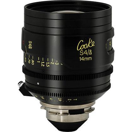 Cooke S4/i 14mm T2.0 Lens PL Rental