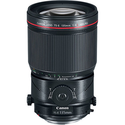 Canon 135mm Tilt Shift Macro F4.0 L Lens EF Rental