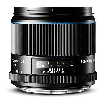 Schneider Blue Ring 55mm F2.8 LS Lens M Rental
