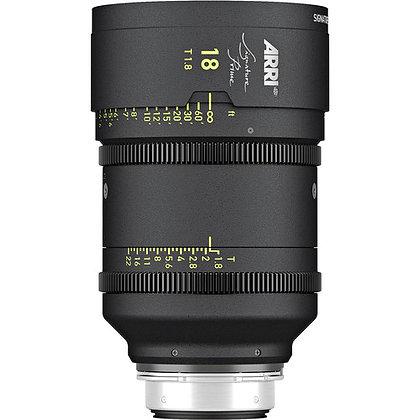 Arri Signature Prime 18mm T1.8 FF Prime Lens PL Rental