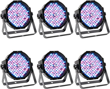 American DJ Low Profile PAR 6 LED Kit Rental