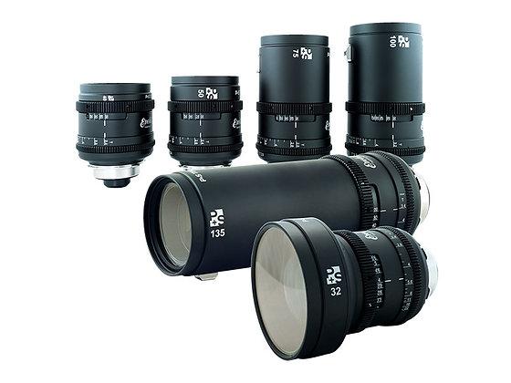 Kowa Evolution 2x Anamorphic 6 Lens Set PL Rental