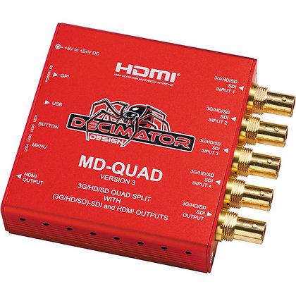 Decimator MD-QUAD Multi-Viewer Kit 1:4 Channel Rental